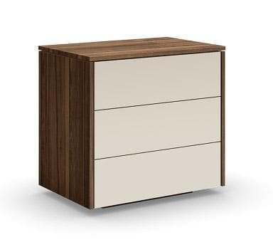 Mobican Mobican Mya 3 Drawer Nightstand - Mobican