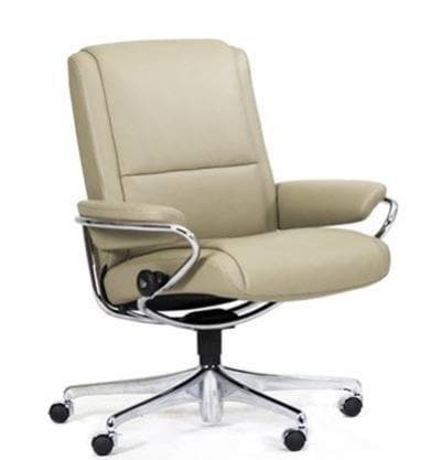Stressless Stressless Paris Low Back Stressless Office Recliner - Stressless