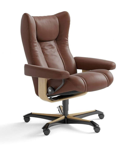 Stressless Stressless Wing Stressless Office Recliner - Stressless