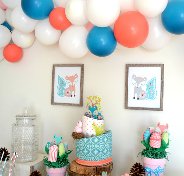 "Woodland ""Fiona Fox"" Baby Shower"