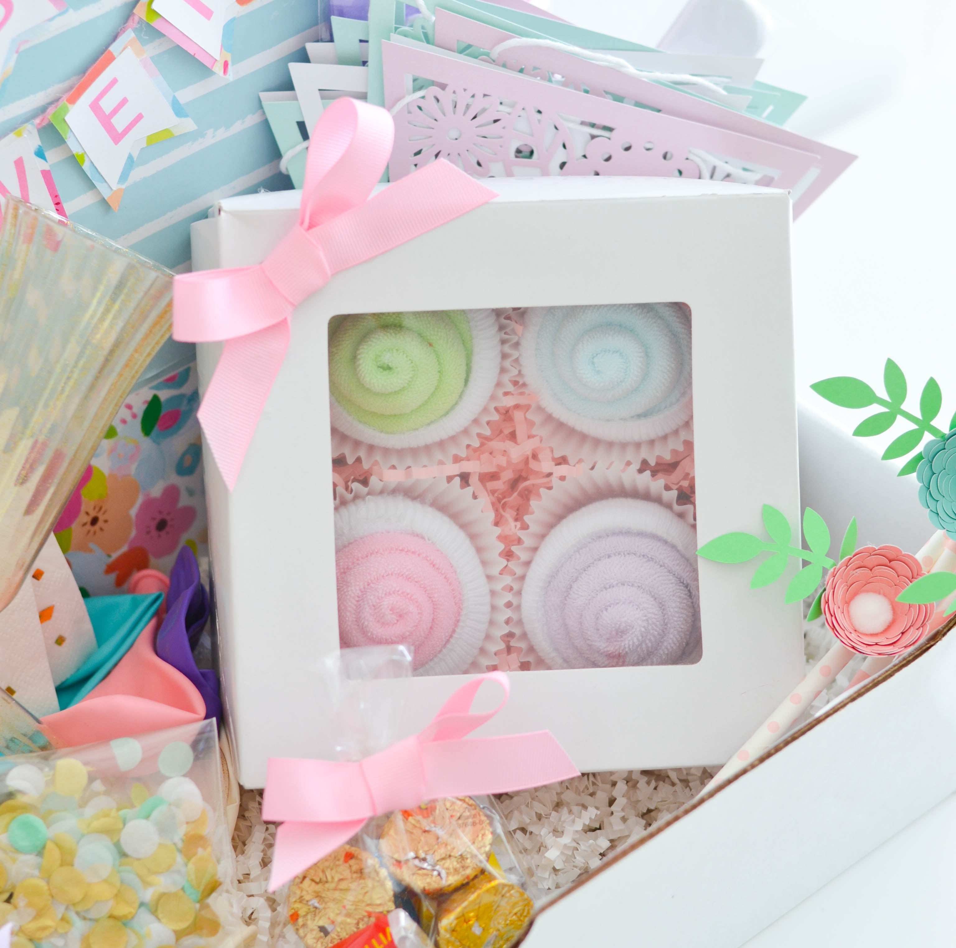 baby shower in a box gifts