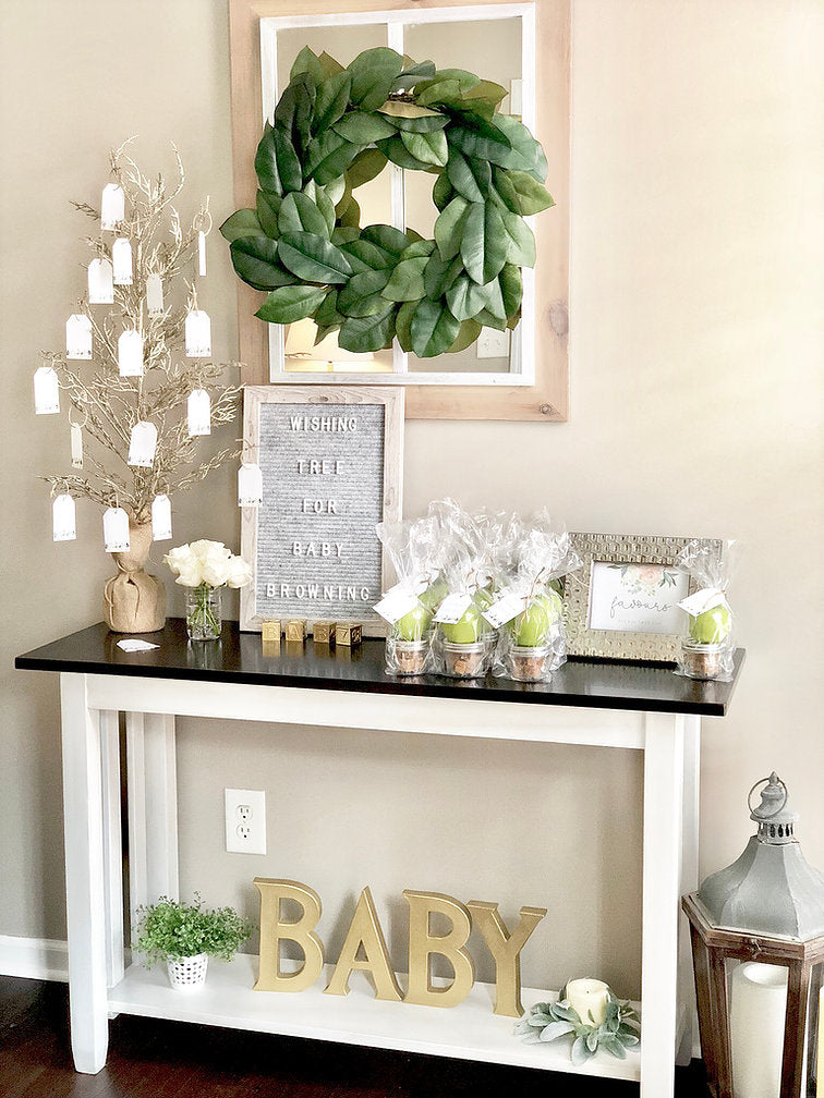Farmhouse Baby Shower