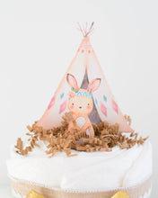 Tribal Woodland Diaper Cake