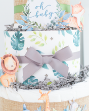 Safari Friends Diaper Cake