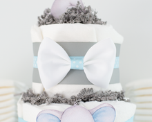 Blue Little Peanut Diaper Cake