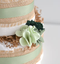 Succulent Diaper Cake Kit 3-Tier