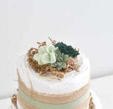 Succulent Diaper Cake Kit 2-Tier