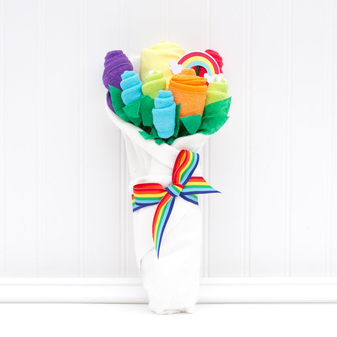 Rainbow Baby Blossom Bouquet
