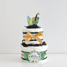 Gold Safari Diaper Cake Kit