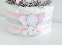 Pink Little Peanut Diaper Cake Kit