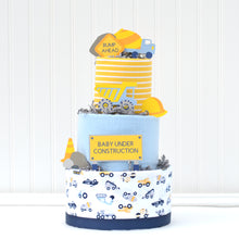 Construction Diaper Cake - Large