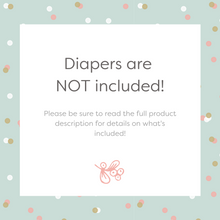 Woodland Friends Diaper Cake Kit