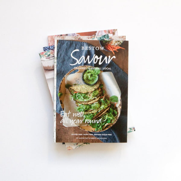 BESTOW SAVOUR VEGETARIAN RECIPE BOOK