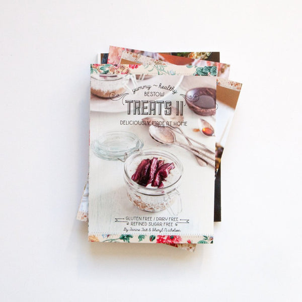 BESTOW TREATS II Recipe Book