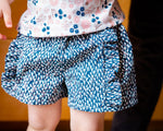Poppy Shorts in Blue on Petals