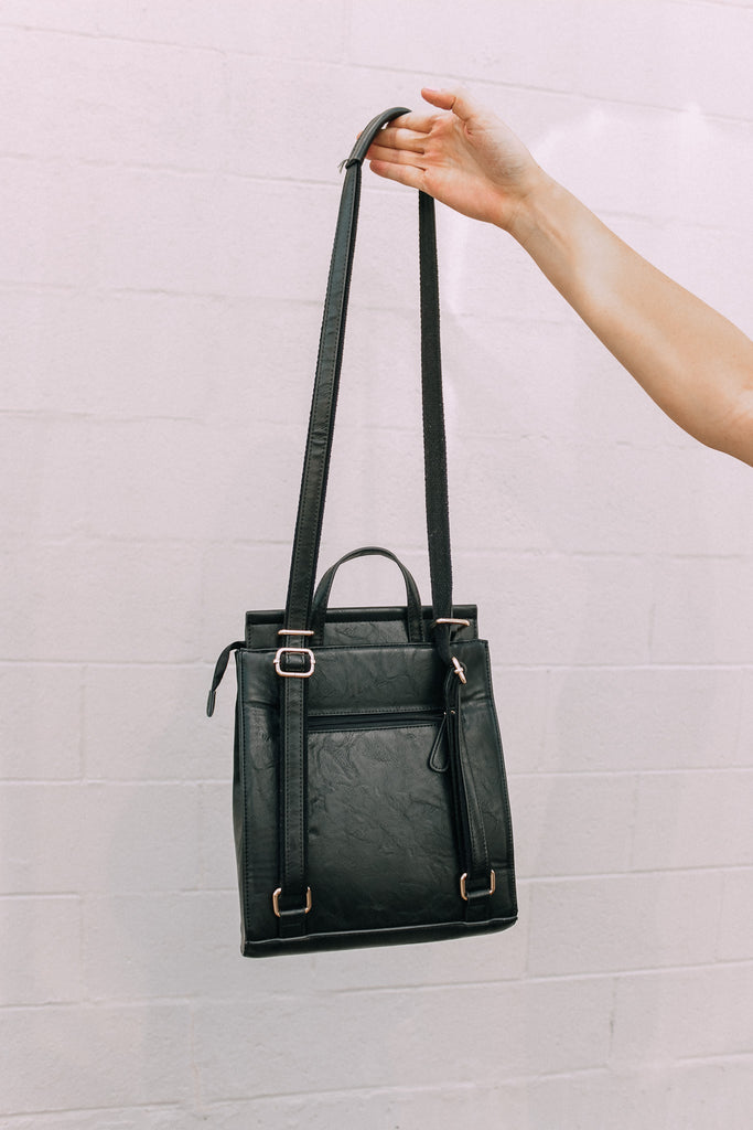 Chasing Magic Convertible Bag - Classic Black