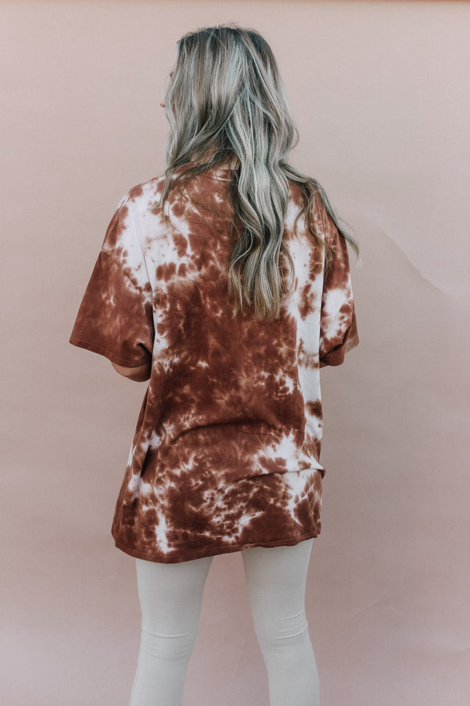 Free Relaxed Box Tee - Mixed Sienna Edition