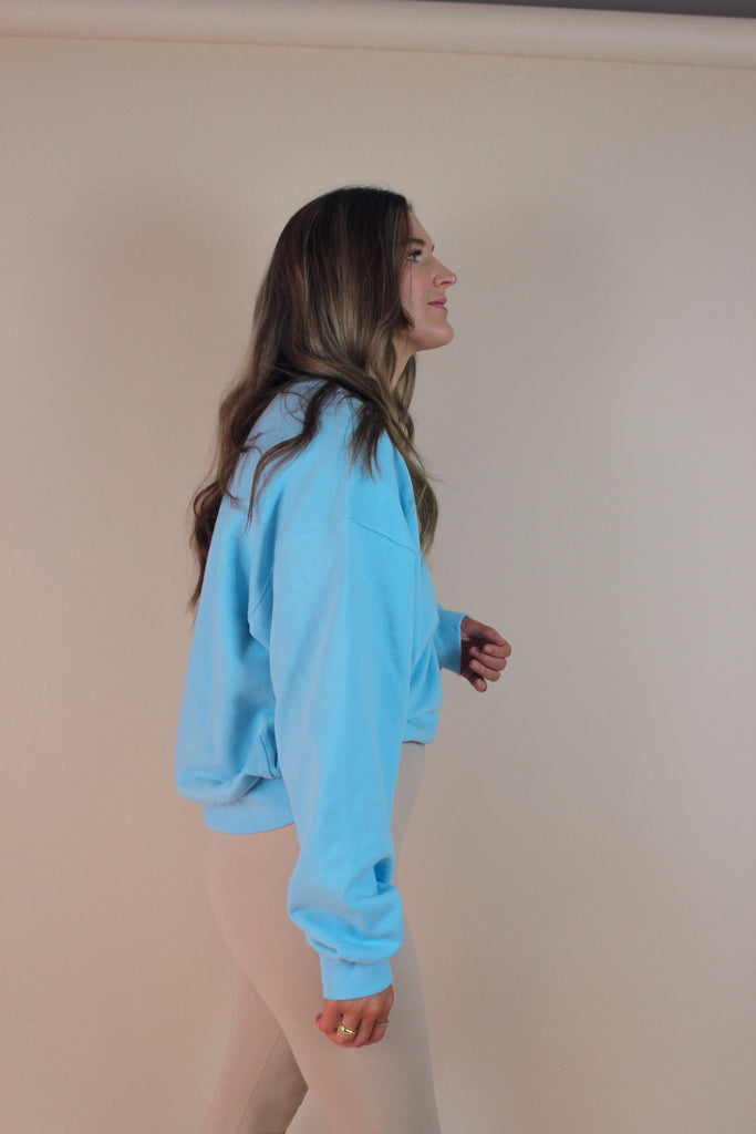 Skies Are Blue Crewneck