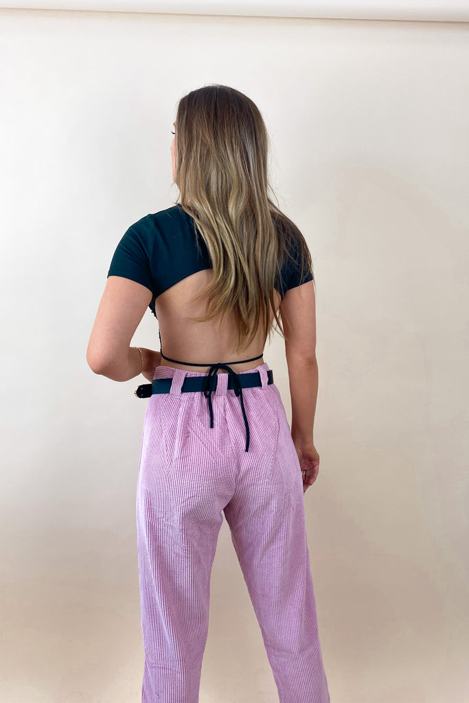 Rad Vibes Open Back Top