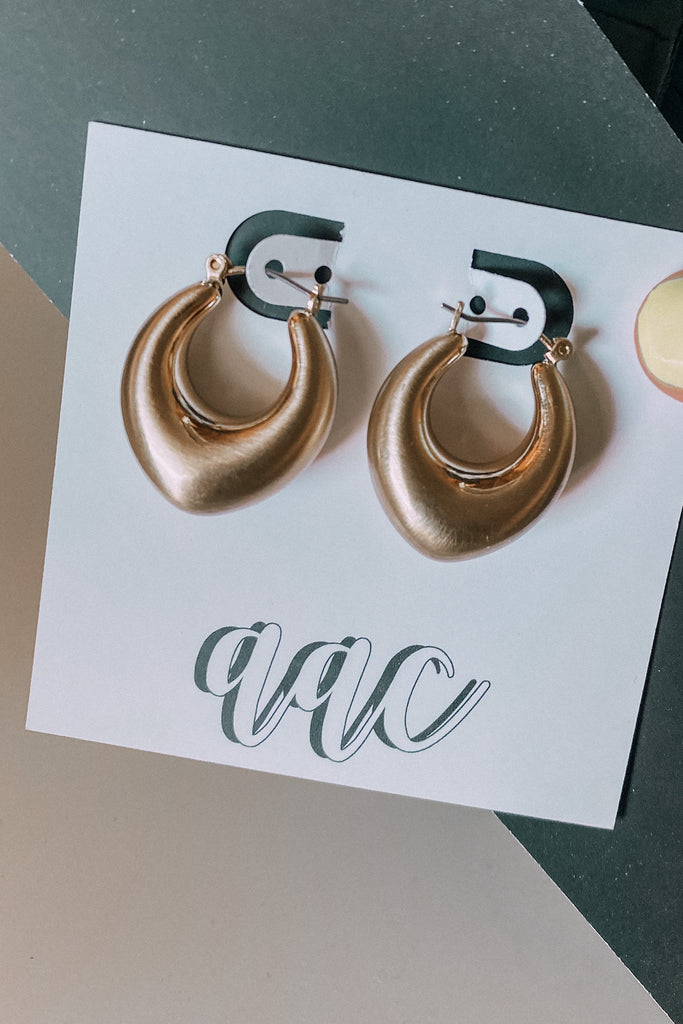 Western Chic Pin Catch Earring