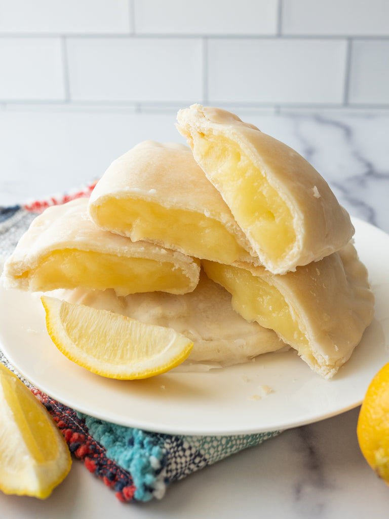 Lemon Meringue Baby Pies