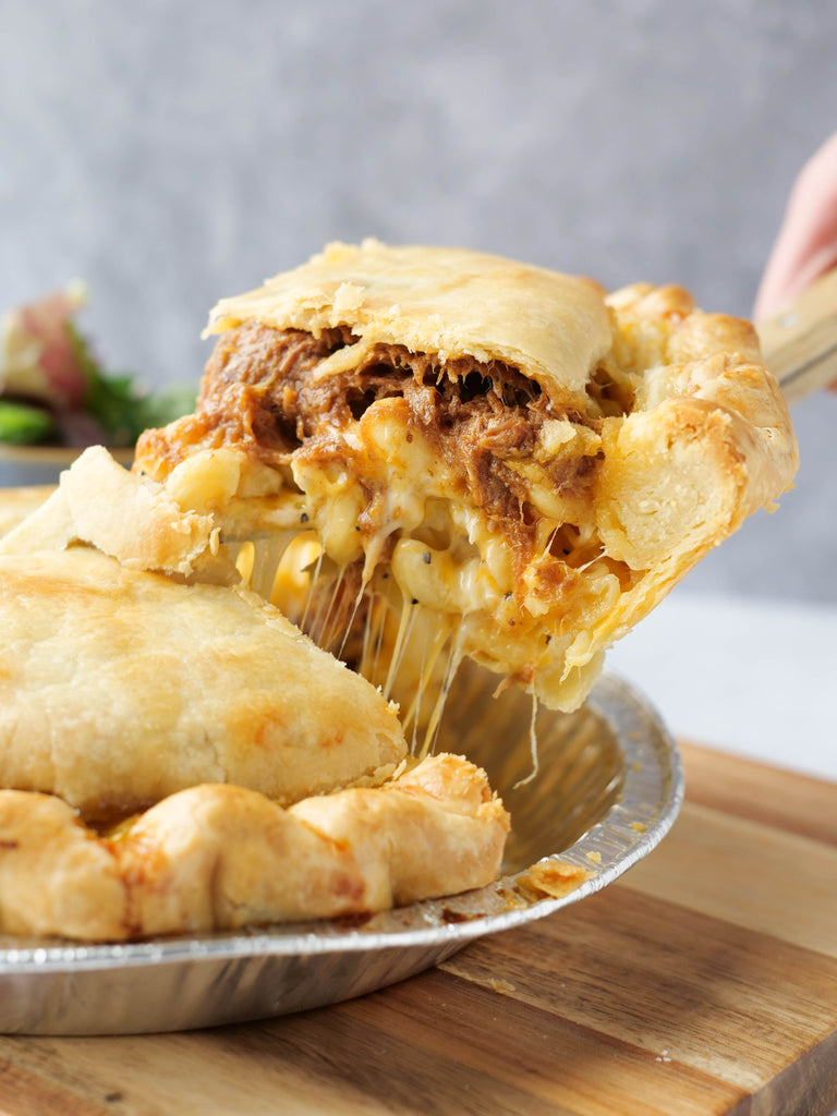 BBQ Mac Pot Pie
