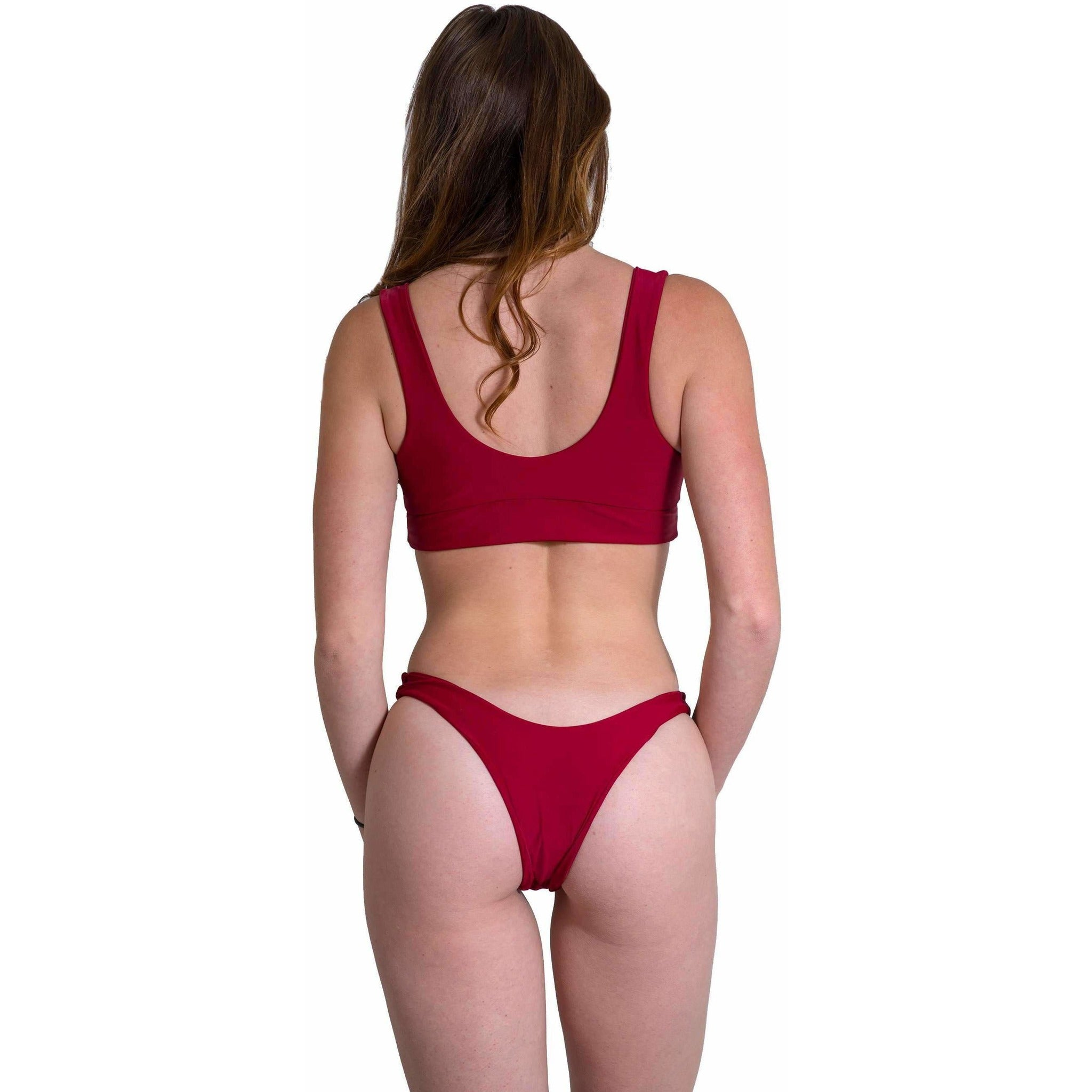 Red Hermosa Top