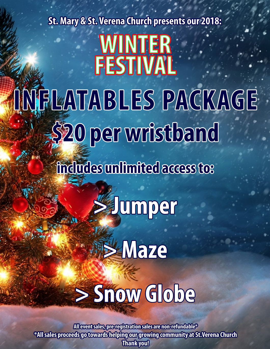 UNLIMITED Inflatables Wristband