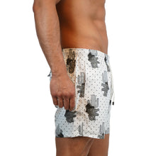 Alligator White Trunks