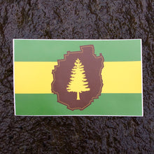Adirondack Flag Sticker