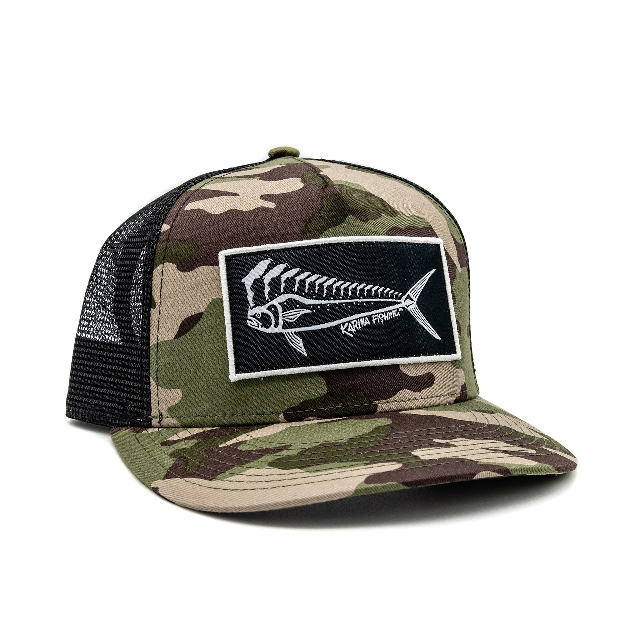 Florida Mahi Ultimate Trucker, Camo/Black