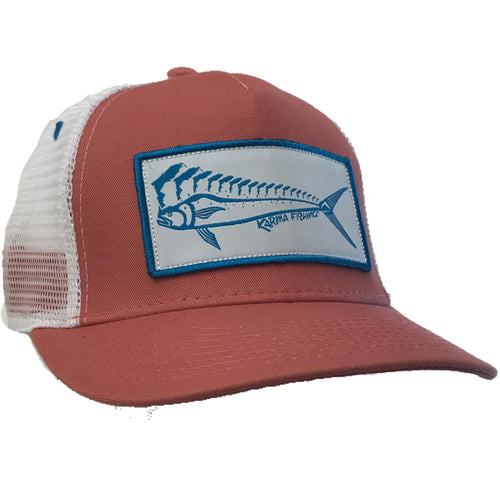 Small Fit Florida Mahi Ultimate Trucker, Coral
