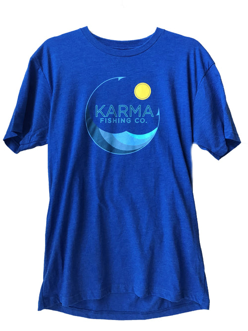 Men's Logo T-Shirt, Blue