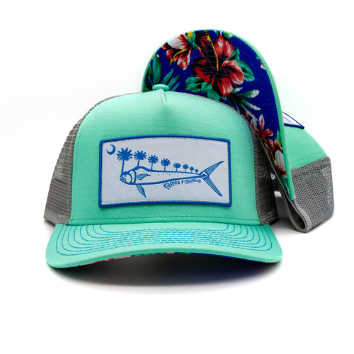 Florida Mahi Ultimate Trucker, Blue/Steel