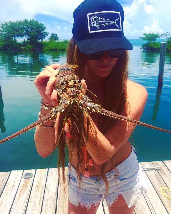 florida lobster mahi hat