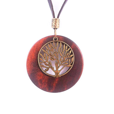 Beautiful Handmade Life Tree Necklaces - woodfashionista.com