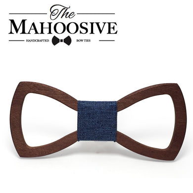 Mahoosive Colorful Options Wood Bow Tie - woodfashionista.com