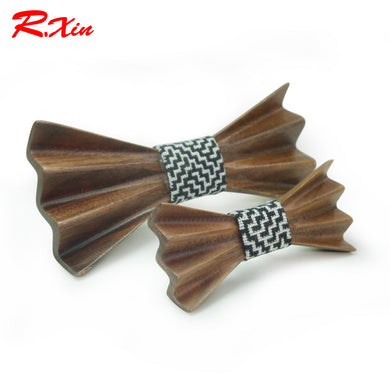 Slim Butterfly Wooden Bowtie - woodfashionista.com