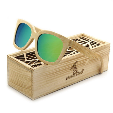BOBO BIRD 2017 Steampunk Handmade Wild Bamboo Sun Glasses with Box - woodfashionista.com