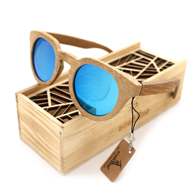 BOBO BIRD 2017 Natural Bamboo Sunglasses With Wooden Gift Box - woodfashionista.com