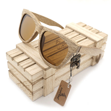 BOBO BIRD 2017 All Natural Wooden Sunglasses with Box - woodfashionista.com