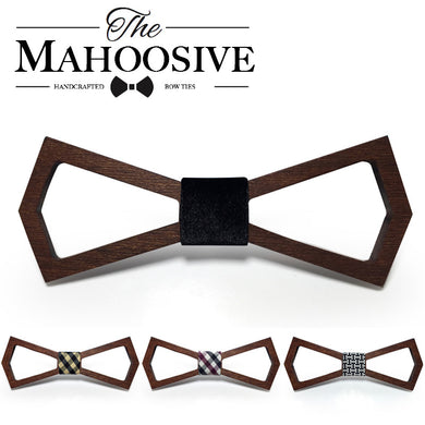 Hollow Cravat Wooden Bowtie - woodfashionista.com
