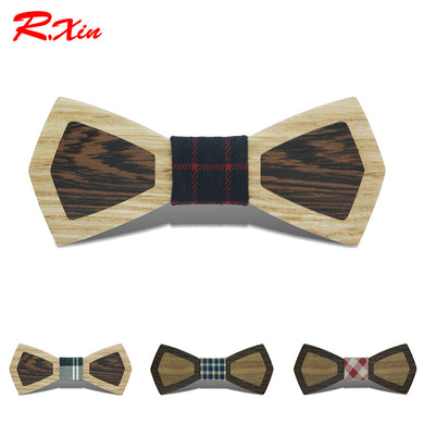 Party Wooden Bow Tie - woodfashionista.com