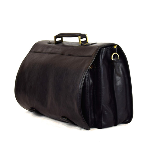 Italian Leather Professional Briefcase