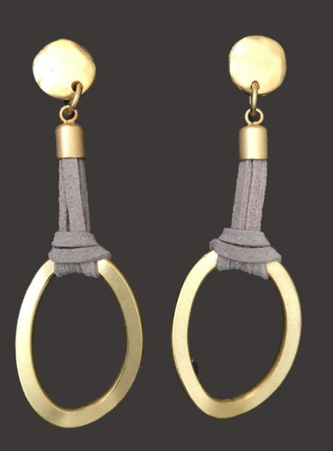 Racket Earrings