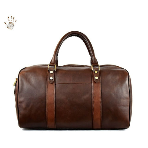 Small Leather Luggage
