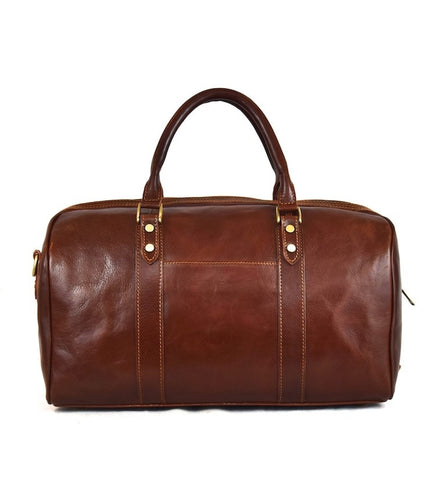 Small Italian Leather Luggage