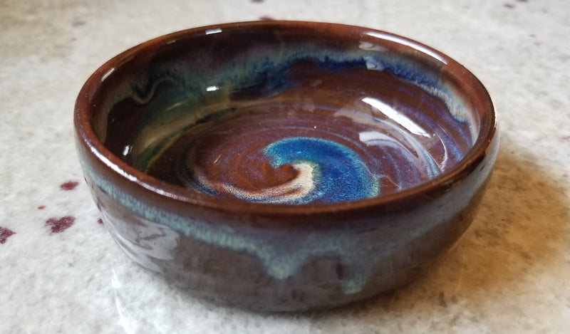 Tater Knob Candy Dish - Small/Chocolate Color