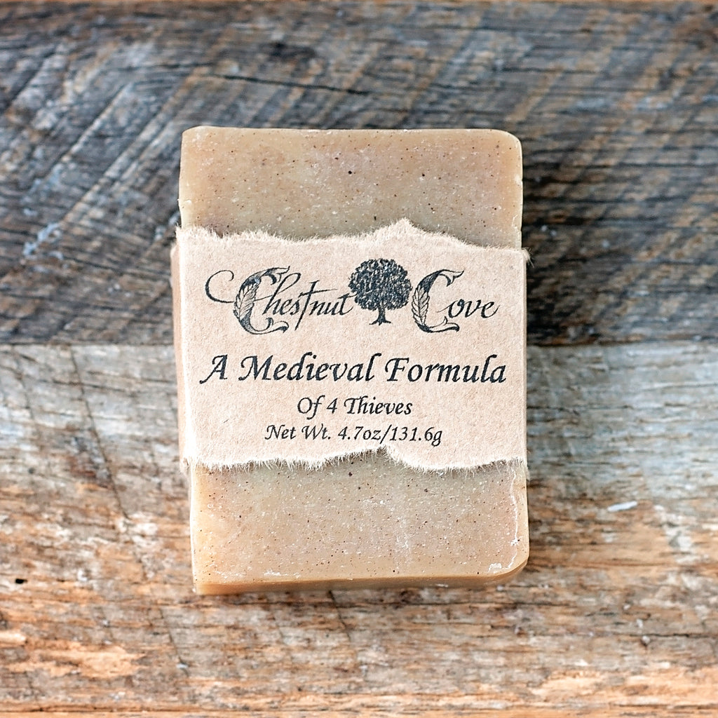 A Medieval Formula (Four Thieves) Soap