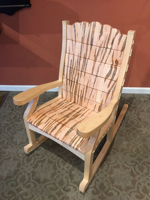 Low Country Ambrosia Maple Rocking Chair
